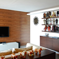 Modern Family Room by hoo Interior Design & Styling