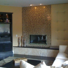 Contemporary Family Room by Interior Motives