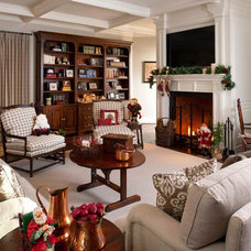 Traditional Family Room by Chambers Interiors & Associates, Inc.