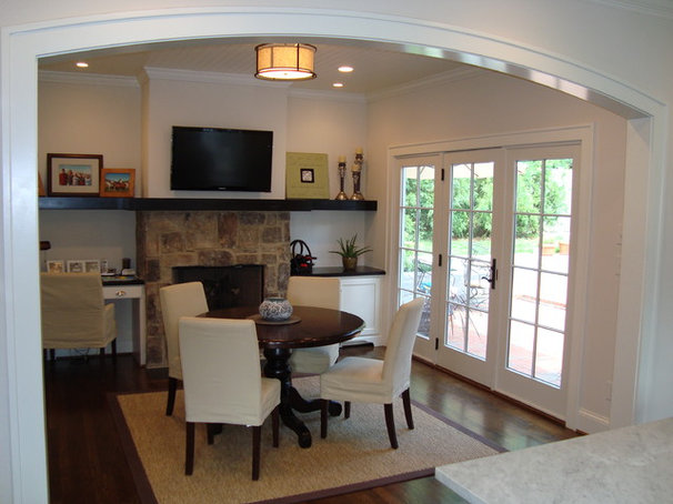 Traditional Family Room by R.J. Stewart Inc, Fine Home Building & Renovations