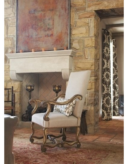 Traditional Family Room by Tracery Interiors