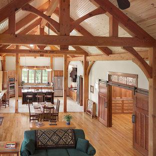 Kentucky Craftsman Timber Frame Home -  Paducah Residence - Loft View