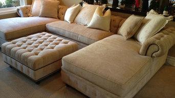 KENZIE STYLE - Chesterfield Custom Sectional Sofas