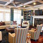 East Nashville Residence Eclectic Living Room