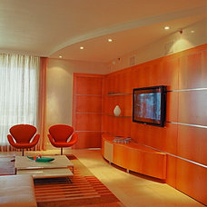 Modern Family Room by Pepe Calderin Design- Modern Interior Design