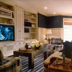 Traditional family room for 1111 dolphin terrace