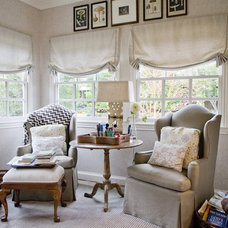 Traditional Family Room by Katherine Robertson Photography