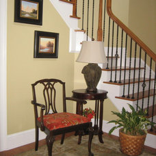 Traditional Family Room by Just Jill! Interiors