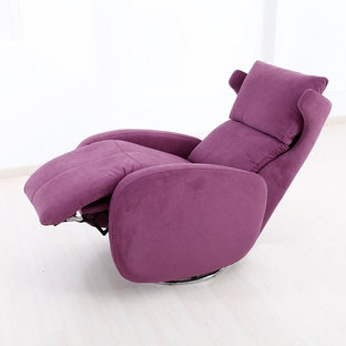 Kim Chair Swivel Power Recliner by Famaliving California