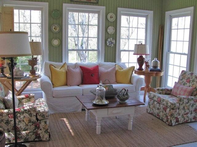 Eclectic Family Room Kim Nichols