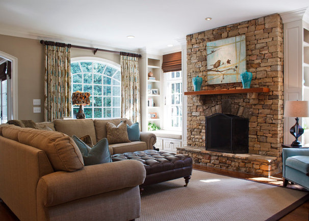 Traditional Family Room by Great Spaces!