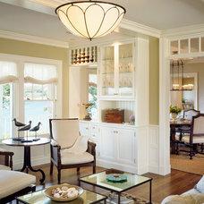 Beach Style Family Room by Hutker Architects