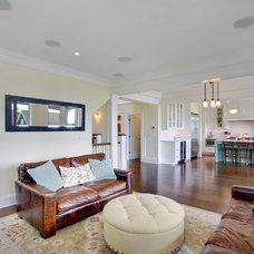 Traditional Family Room by RW Anderson Homes