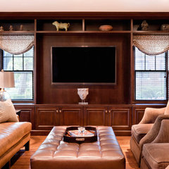 traditional family room by Jane Spencer Designs