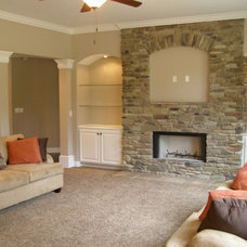 Traditional Living Room by Colony Home Builders