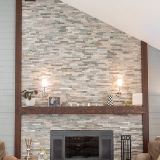 Kitchen & Great Room - Carmel, IN - 2017