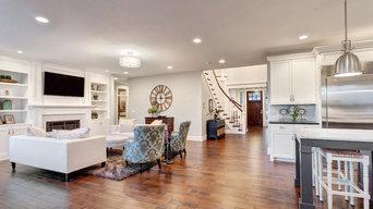 Kitchen & Living Room - Recessed Lighting Remodel