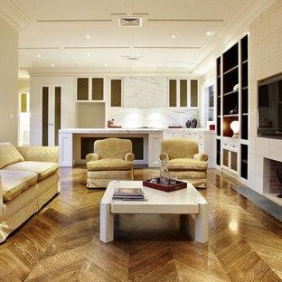 Kitchen Familly Room Architecture Canterbury Lia Estate Interior Design