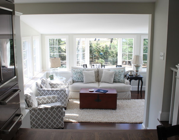 Traditional Family Room by Molly Frey Design