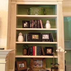 Traditional Family Room by Elizabeth Turner Design