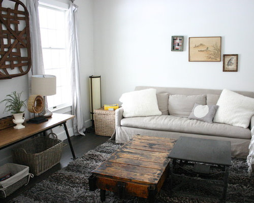Linen Wrapped Coffee Tables Houzz