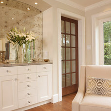 Traditional Family Room by Janis Gosbee Design Inc.