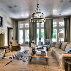Contemporary Family Room by Parker House Inc.