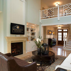 Traditional Family Room by The Lewes Building Company