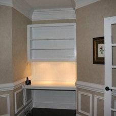 Traditional Family Room by Kreg's Custom Carpentry