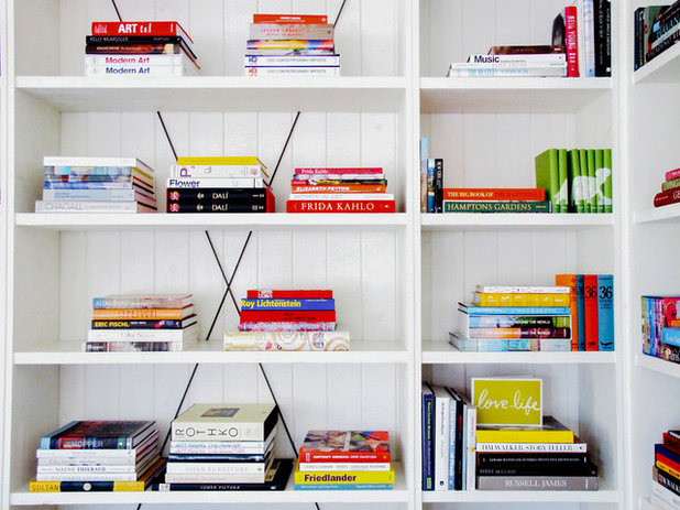 Contemporary Family Room by Juniper Books