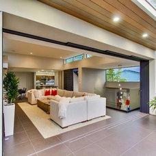 Contemporary Family Room by Streamline Development