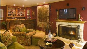 LaCrescenta Family Room Remodel