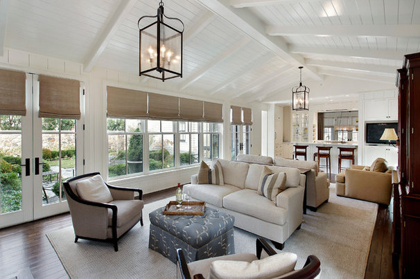 Traditional Family Room by Fieldcrest Builders Inc