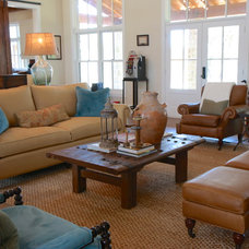 Traditional Family Room by The ARTEC Group, Inc