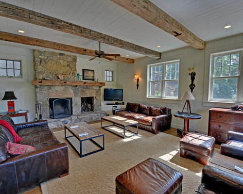 Opposing Couches Home Design Ideas Pictures Remodel And