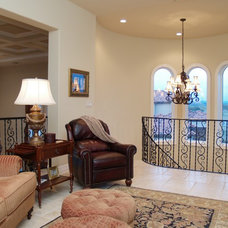 Traditional Family Room by Greg Logsdon