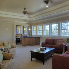 Traditional Family Room by Gray Family Homes