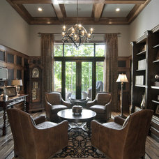Eclectic Family Room by KDH Residential Designs