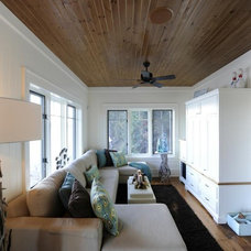 Eclectic Family Room by Urban Rustic Living