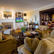 Contemporary Family Room by Audio/Video Awakenings LLC