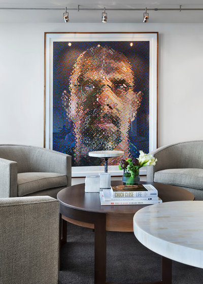 Contemporary Family Room by Tom Stringer Design Partners