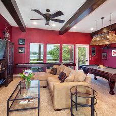 Traditional Family Room by Jenkins Custom Homes