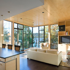 Contemporary Family Room by Prentiss Architects