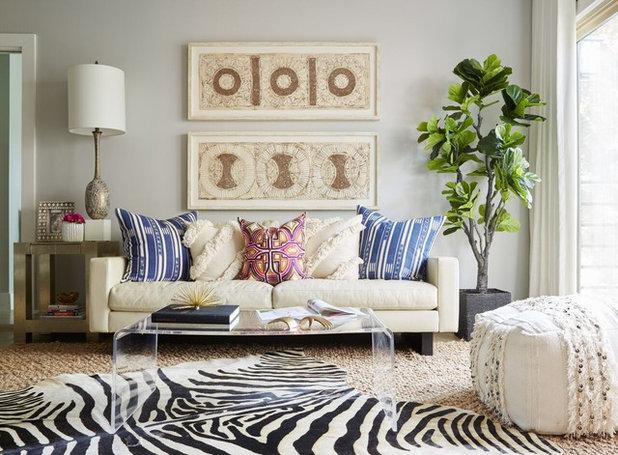 Transitional Family Room by Beth Dotolo, ASID, RID, NCIDQ