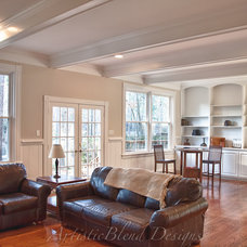 Traditional Family Room by ArtisticBlend Designs