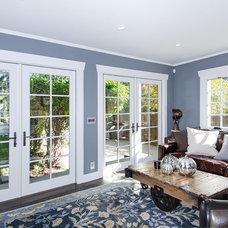 Traditional Family Room by Creative Eye Design + Build, LEED AP, CGBP