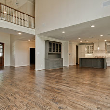 Traditional Family Room by New Leaf Construction