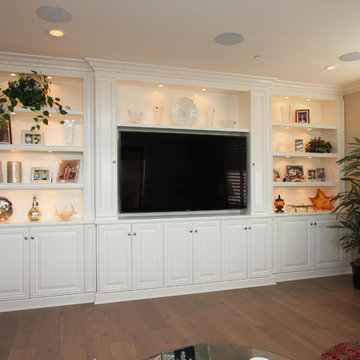 Large Entertainment Centers and Large Built-ins