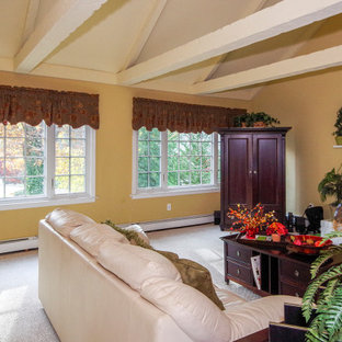 Large Family  Room with New Casement & Picture Windows