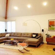 Midcentury Family Room by The Sofa Company
